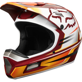 Fox Rampage Comp Reno Bike Helmet Men red/white